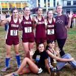 Swain Wins Gold and Silver at Cross Country SMC