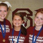 3 Selected All-American Cheerleaders