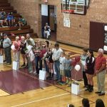 Lady Devils Honor Senior Players Prior to Blue Ridge Match