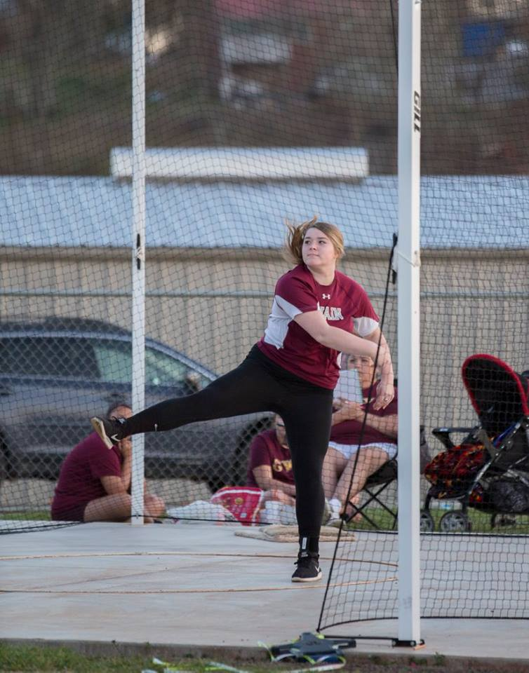 Murphy Edges Lady Devils in Track Action